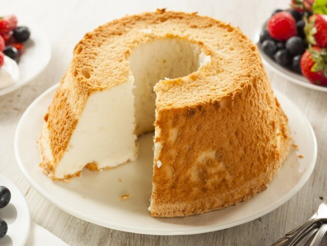 Photo Of 12 Egg White Angel Food Cake