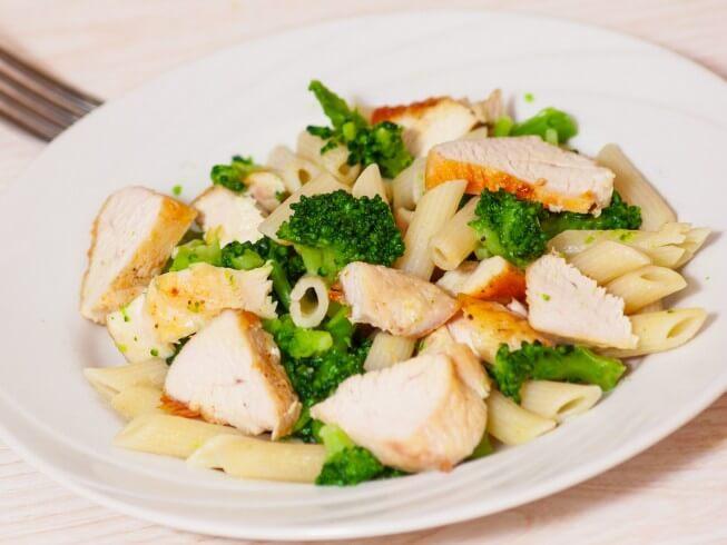 Ziti With Chicken, Broccoli, And Cheese  Cdkitchencom-6659