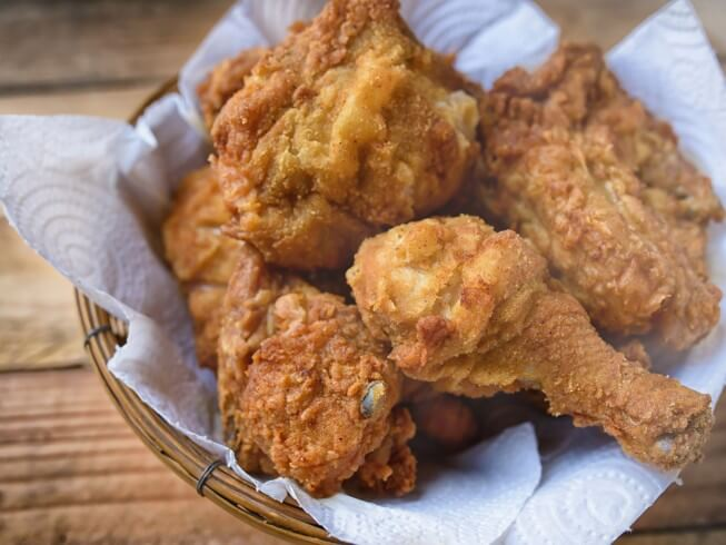 Fried chicken like kfc recipe