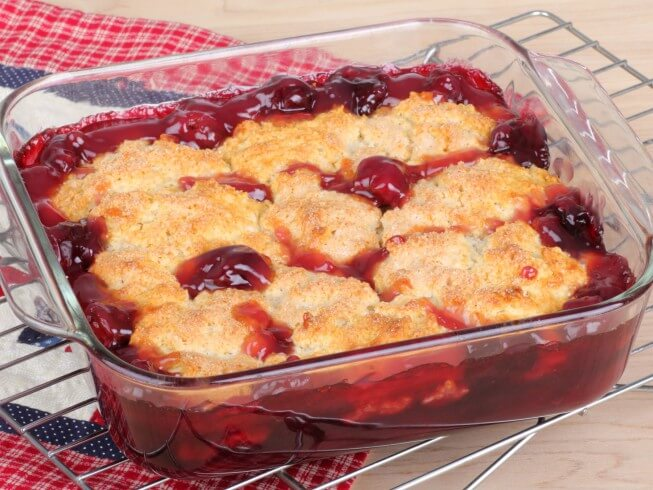 Easy Blackberry Cobbler With Cake Mix