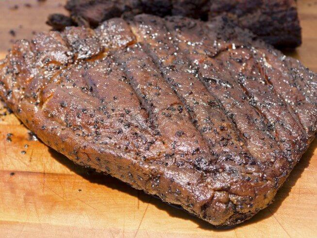 Crock Pot Spicy Chipotle Beef Brisket Recipe from CDKitchen