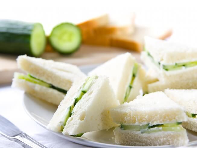 Cucumber And Watercress Tea Sandwich Recipe Cdkitchen Com