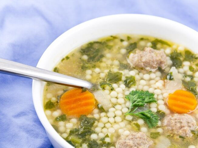 Crock Pot Italian Wedding Soup Recipe From CDKitchen