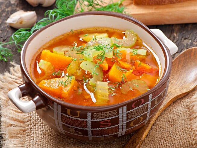 Easy vegetable soups recipes