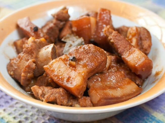 Adobong Baboy (Pork Adobo) Recipe from CDKitchen