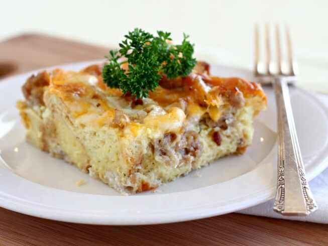 Strata Recipes overnight breakfast casserole recipes - cdkitchen