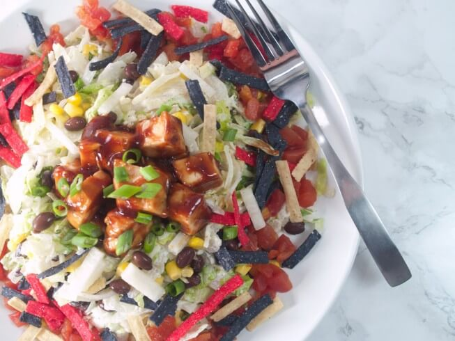 How To Make California Pizza Kitchen\'s Chicken Chopped Salad | CDKitchen