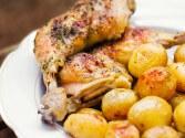 Creamy Ranch Skillet Chicken Recipe | CDKitchen.com