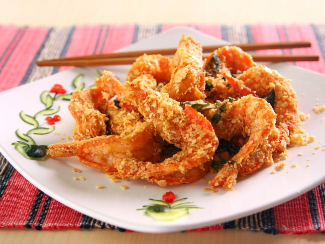 how to cook crispy shrimp