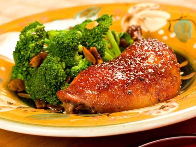 photo of Chicken Breasts with Spicy Honey Orange Glaze