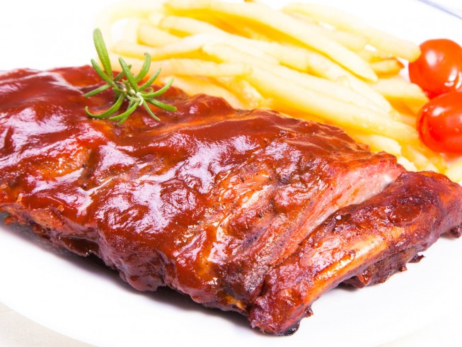 Crock Pot Western Style Ribs Recipe Cdkitchen Com