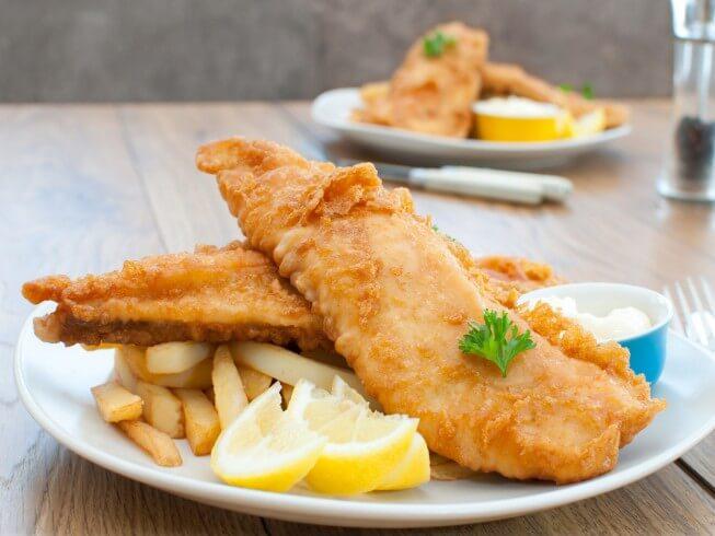 Copycat long john silver 39 s deep fried fish and shrimp for Fried fish and shrimp