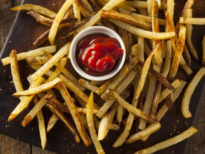 photo of Homemade Frozen French Fries