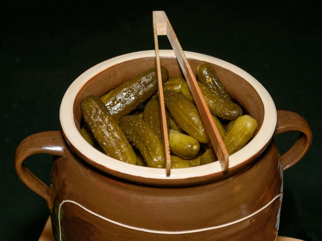 Old-Fashioned Pickle Barrel Pickles