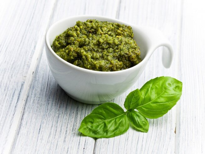 Fresh Basil Pesto Recipe | CDKitchen.com