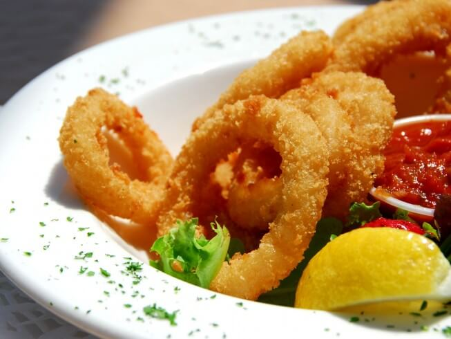 how to make salt and pepper squid rings