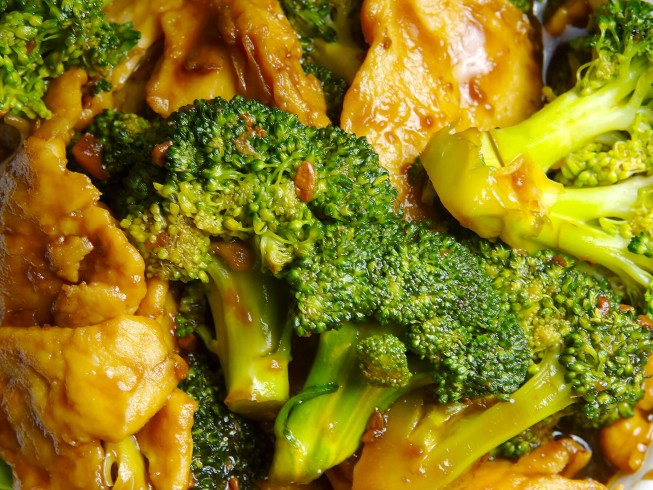 Chinese crystal chicken with broccoli recipe cdkitchen photo of chinese crystal chicken with broccoli forumfinder
