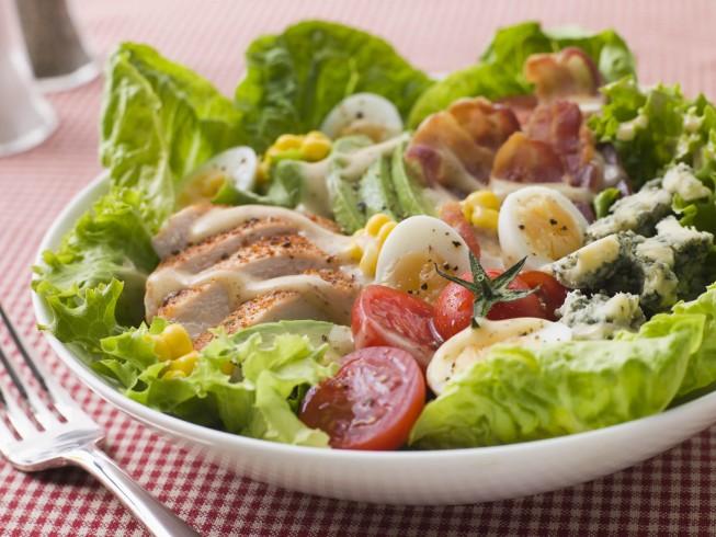 dieta para diabeticos salada