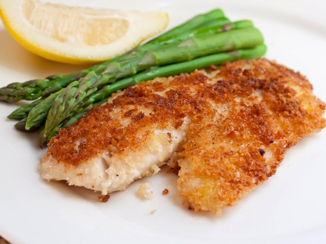 Parmesan Crusted Grouper Recipe | SparkRecipes