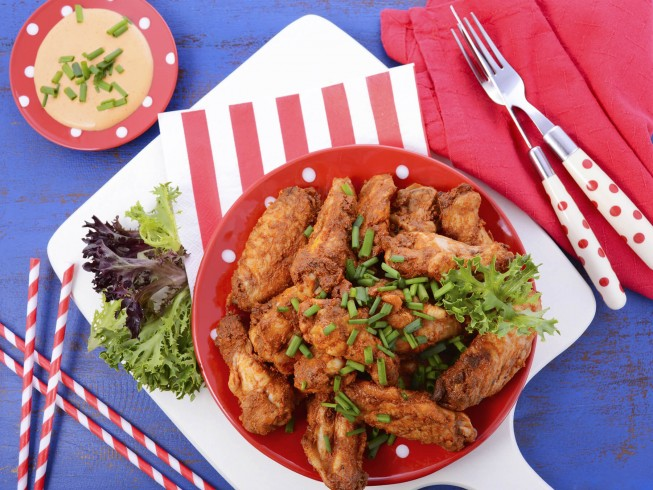 All american buffalo wings recipe cdkitchen photo of all american buffalo wings forumfinder Images