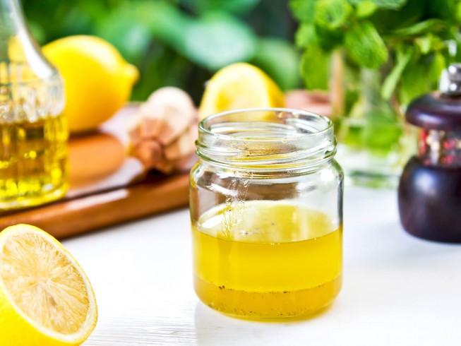 Oil And Vinegar Dressing With Lemon Recipe Cdkitchen Com