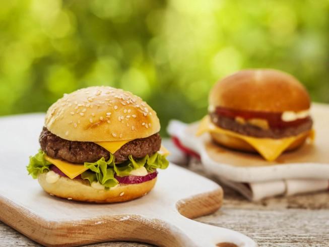 Grilled Chopped Steak Burger Recipe | CDKitchen.com