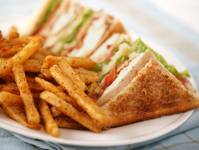 All american club sandwich recipe cdkitchen photo of all american club sandwich forumfinder Images