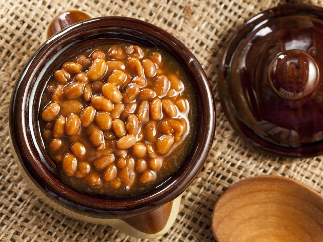 Slow Cooked Baked Beans (Crockpot) Recipe | CDKitchen.com