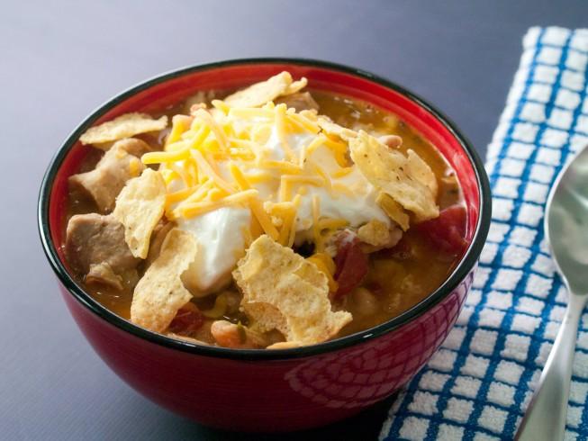 Easy Crock Pot White Chicken Chili Recipe Cdkitchen Com