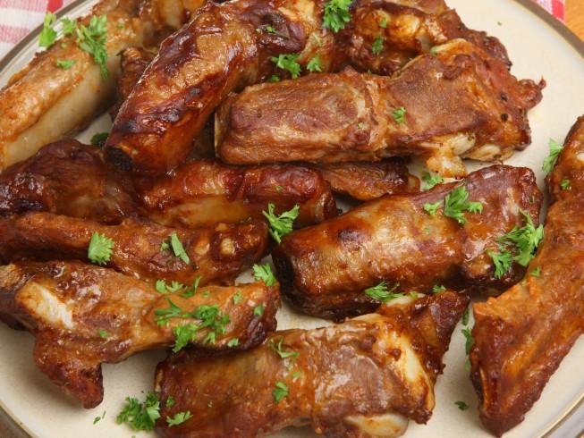 Mandarin Spare Ribs Recipe Cdkitchen Com