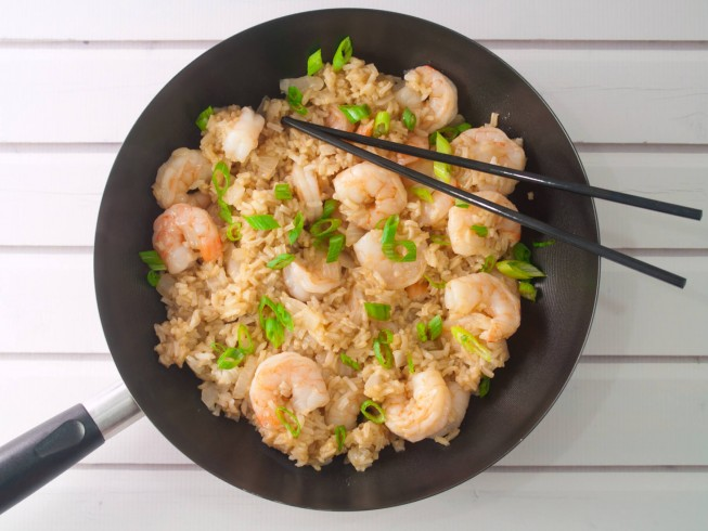photo of Quick Teriyaki Shrimp And Rice