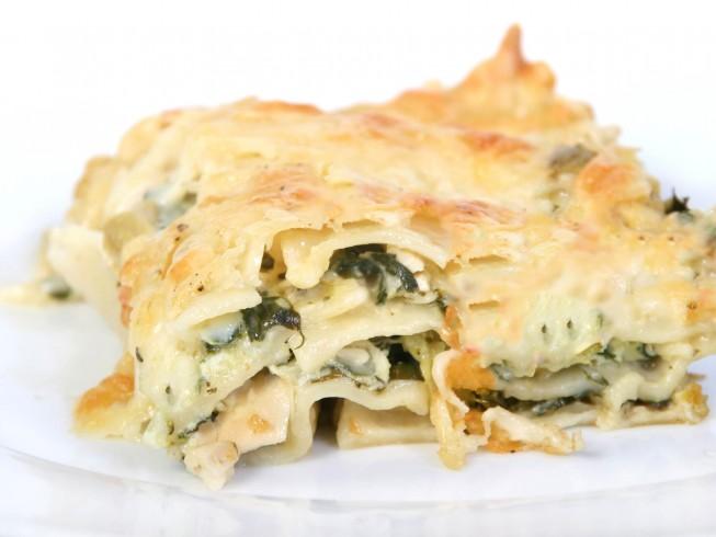 Crock Pot Chicken Lasagna Florentine Recipe Cdkitchen Com