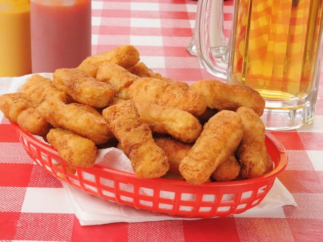 Batter Chicken Recipe Strip