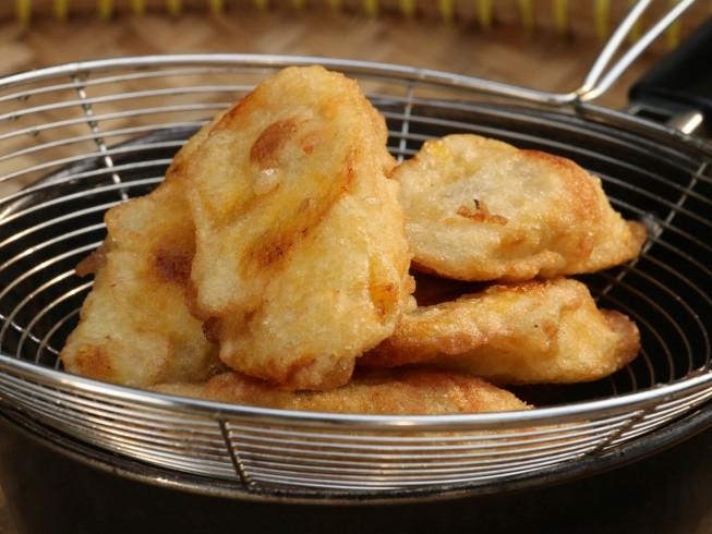 Batter Fried Plantain Recipe Cdkitchen Com