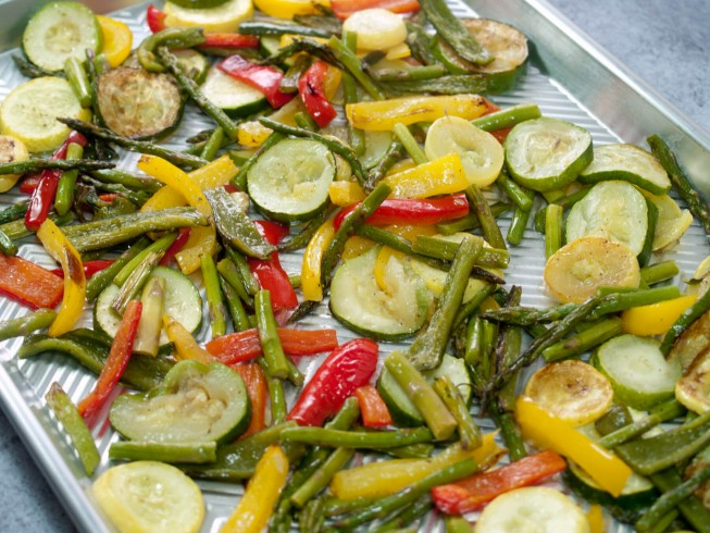 photo of Oven-Roasted Vegetables