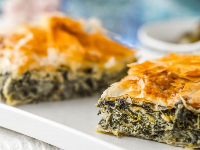 Spanakopita (Greek Spinach Pie) Recipe from CDKitchen.com