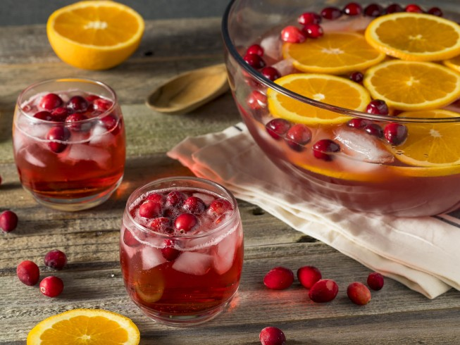 photo of christmas punch