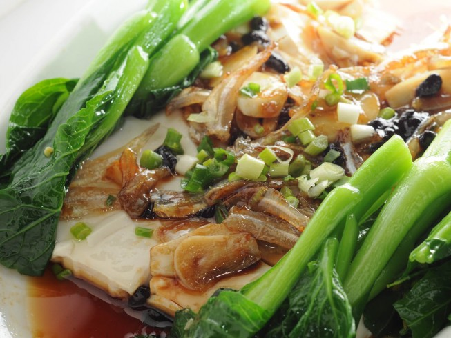 pf chang's steamed fish with ginger and green onions