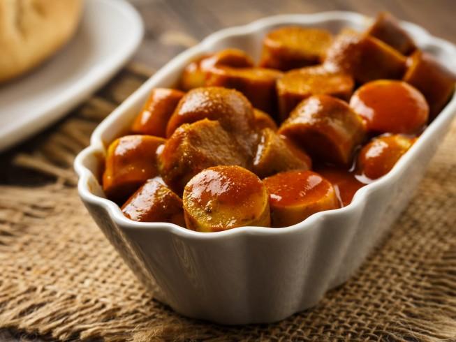 Drunken Hot Dogs Crock Pot