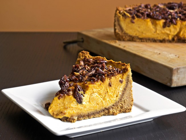Copycat Cheesecake Factory Pumpkin Cheesecake Recipe Cdkitchen Com