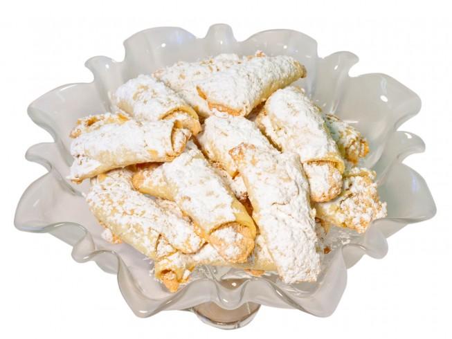 Butter Horn Cookies Recipe Cdkitchen Com