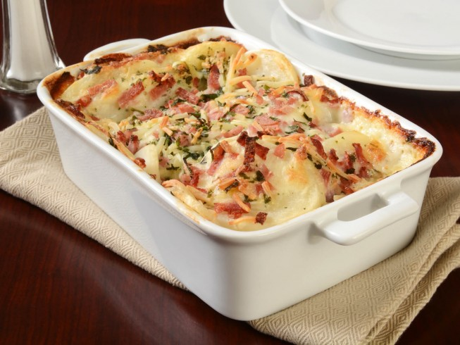 photo of Cheesy Ham and Scalloped Potatoes