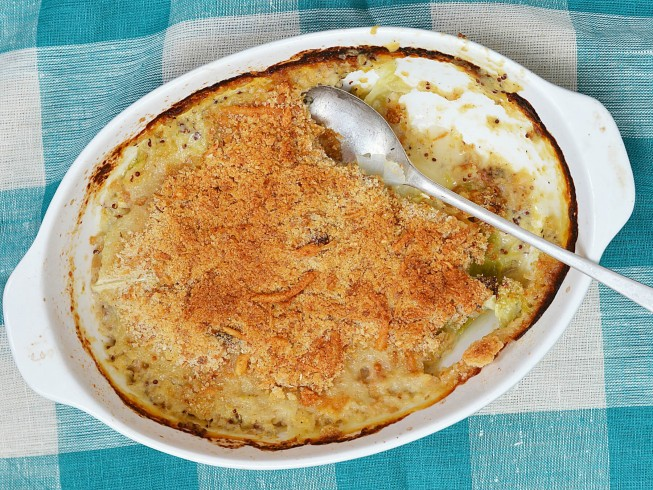photo of Baked Cajun Cabbage