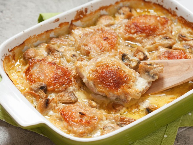 photo of Easy Oven Baked Chicken Supreme