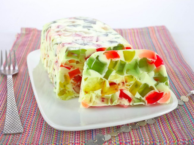 Broken Glass Jello Salad Recipe | CDKitchen.com