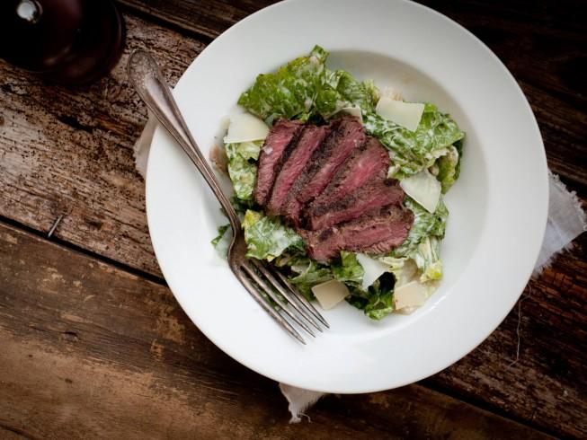 Grilled Steak Caesar S...