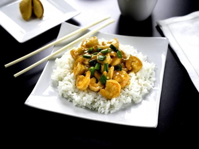 photo of Szechuan Shrimp Stir-Fry