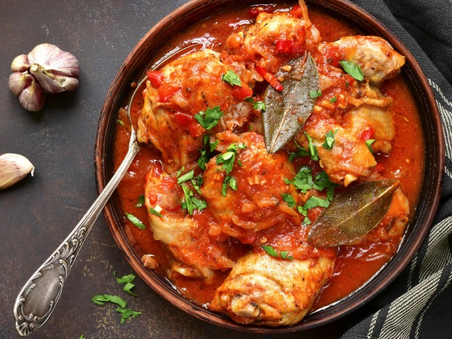 photo of Chicken Cacciatore With Red Wine Sauce