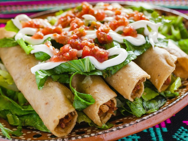 Flautas De Pollo Chicken Flautas Recipe Cdkitchen Com
