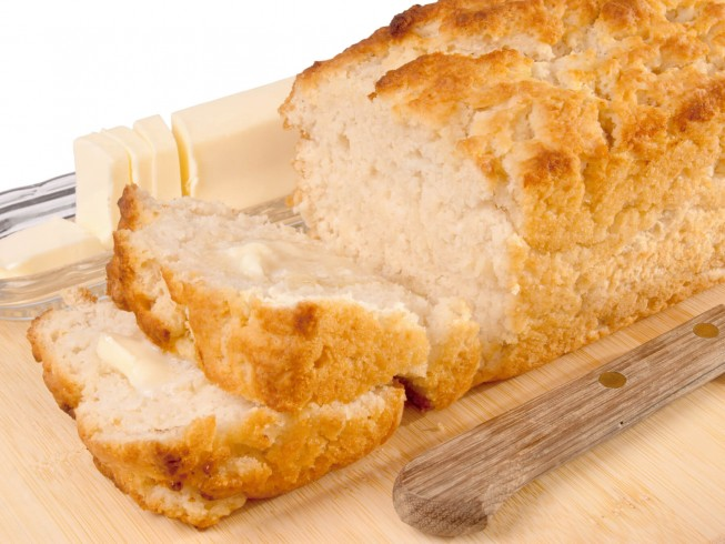 Easy Beer Bread With Self-Rising Flour Recipe | CDKitchen.com